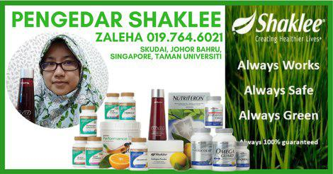 ready stock Shaklee