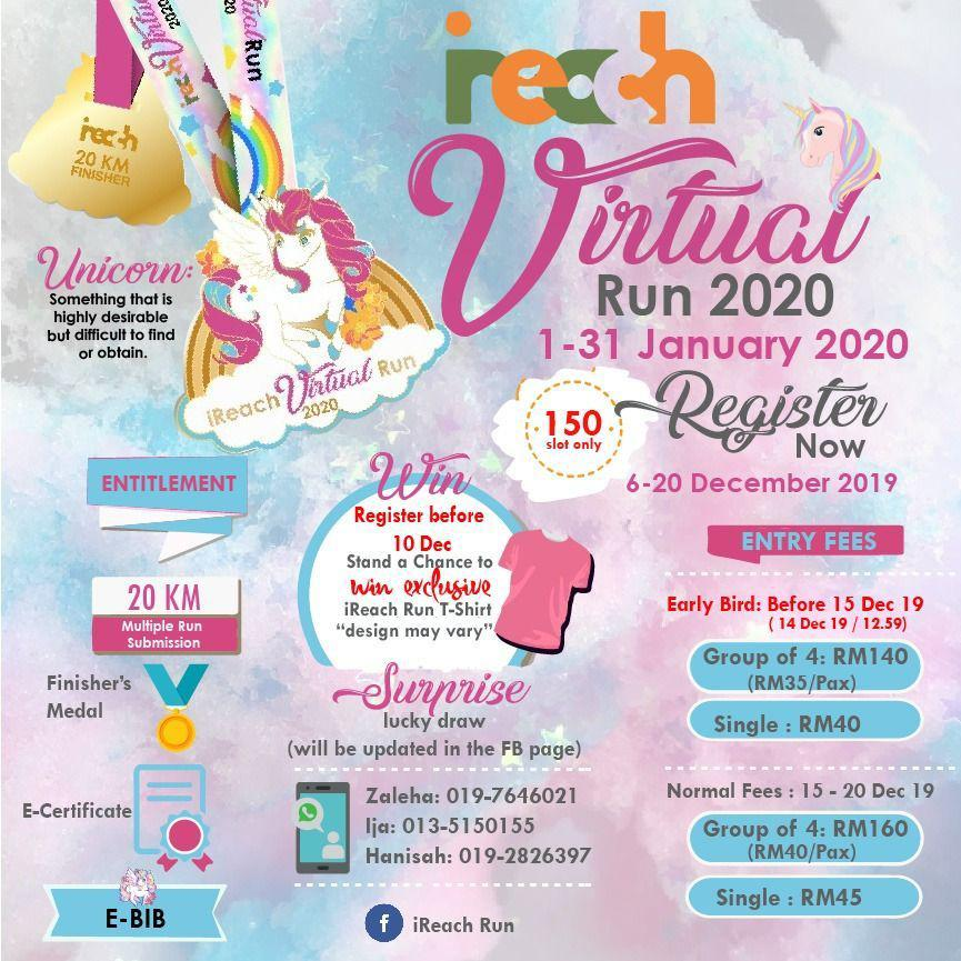 unicorn virtual run